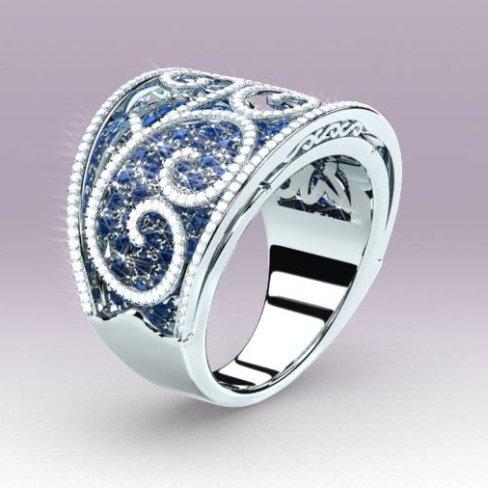 MATY Besançon : modélisation 3D de 3 bijoux d'exception