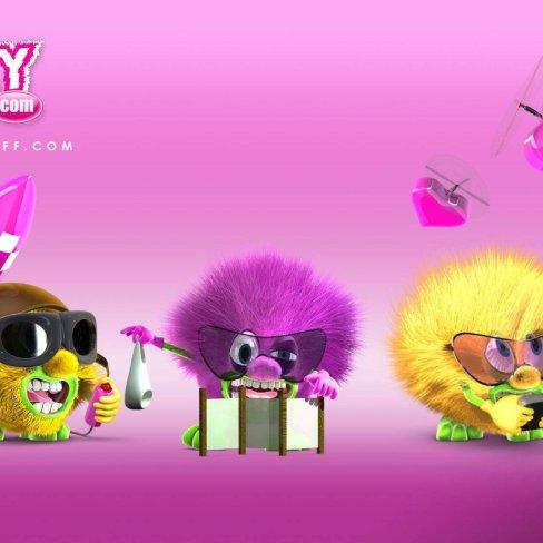 My Crazy Stuff : création & rendu de personnages 3D