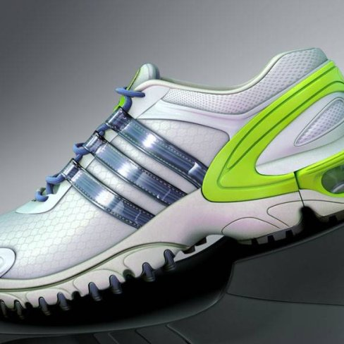 Adidas : modélisation & rendu - prototype