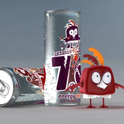 My crazy stuff : modélisation d'un personnage 3D d'après une mascotte 2D