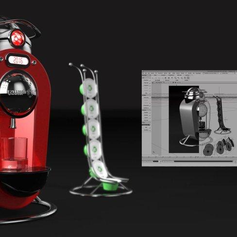 BONZAI STUDIO et LA GRIFFE : Design et création 3D
