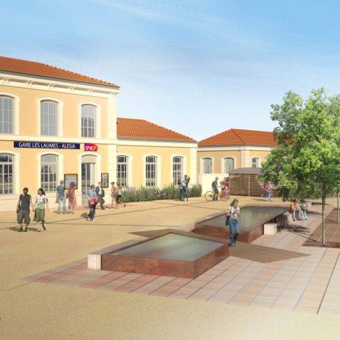 SNCF : architecture, Image 3D